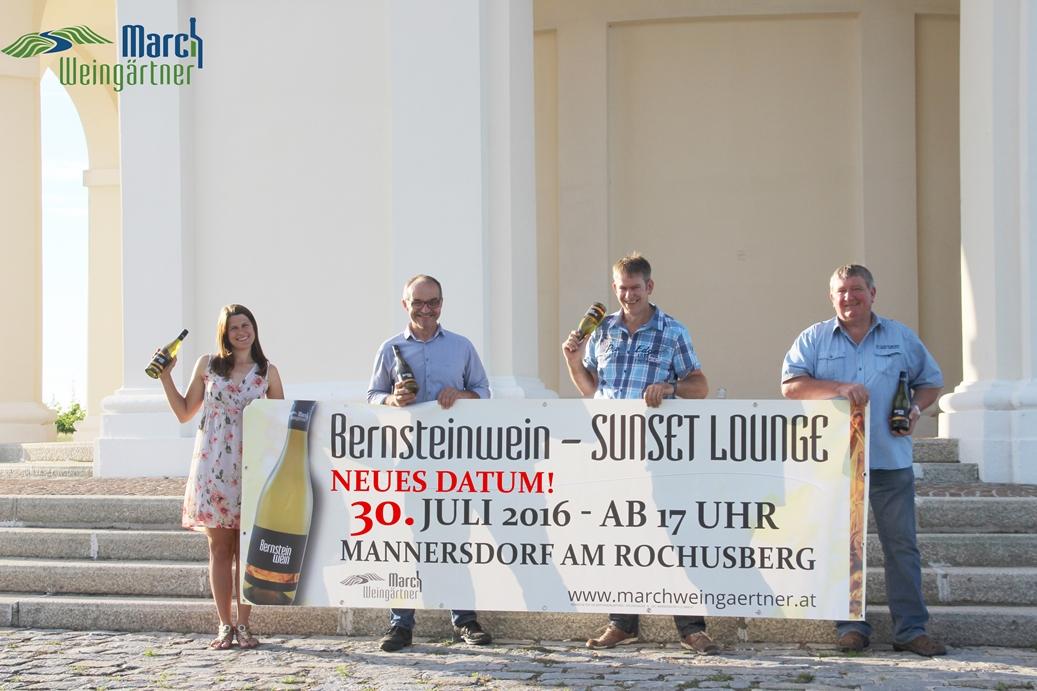 1. Bernsteinwein Sunset Lounge & Bernsteinweinkarussell am Rochusberg in Mannersdorf